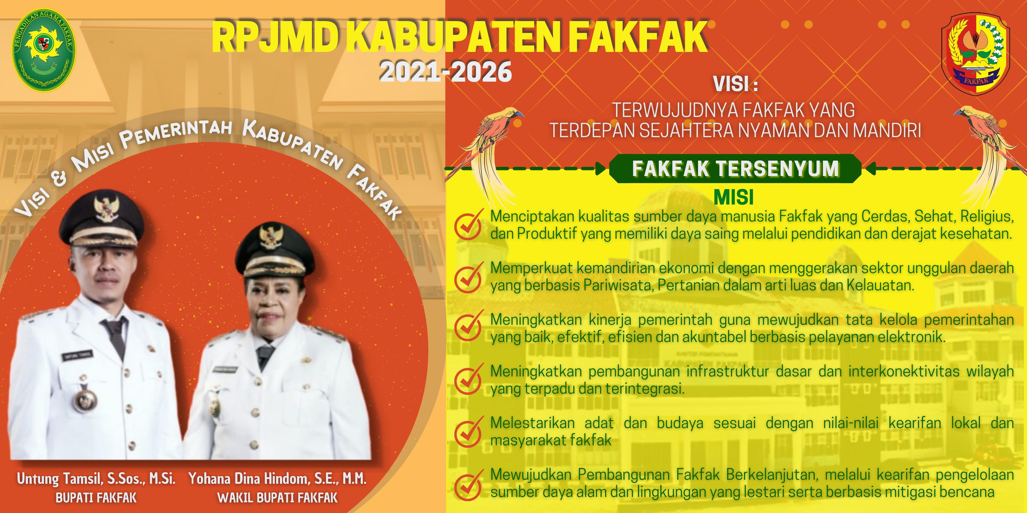 RPJMD KABUPATEN FAKFAK 2021-2026